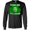 Three Stooges Kiss Me I'm A Stooge Long Sleeve T-Shirt