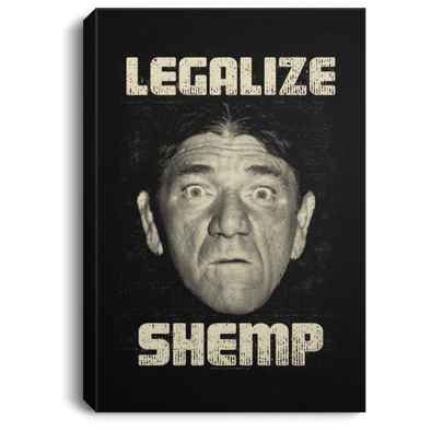 Three Stooges Legalize Shemp Portrait Canvas .75in Frame