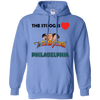 Three Stooges Love Philadelphia Hoodie - Free Shipping