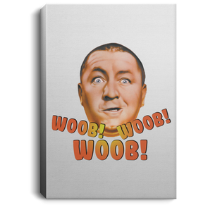 Three Stooges Woob Woob Woob Portrait Canvas .75in Frame