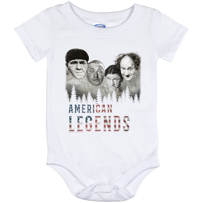 Three Stooges Baby Onesie 12 Month