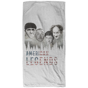 Three Stooges American Legends Bath Towel - 32x64