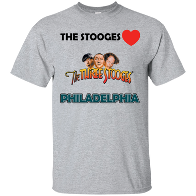 Three Stooges Love Philadelphia T-Shirt