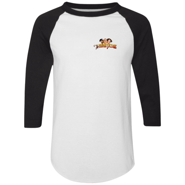 Three Stooges Sports Style Raglan Jersey Howard #3