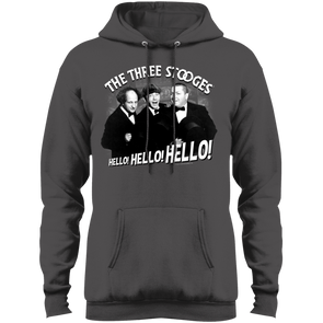 Three Stooges Hello Hello Hello Hoodie - Free Shipping