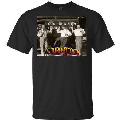 Three Stooges Hook Line Sinker T-Shirt