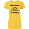 Three Stooges Love Los Angeles Ladies T-Shirt