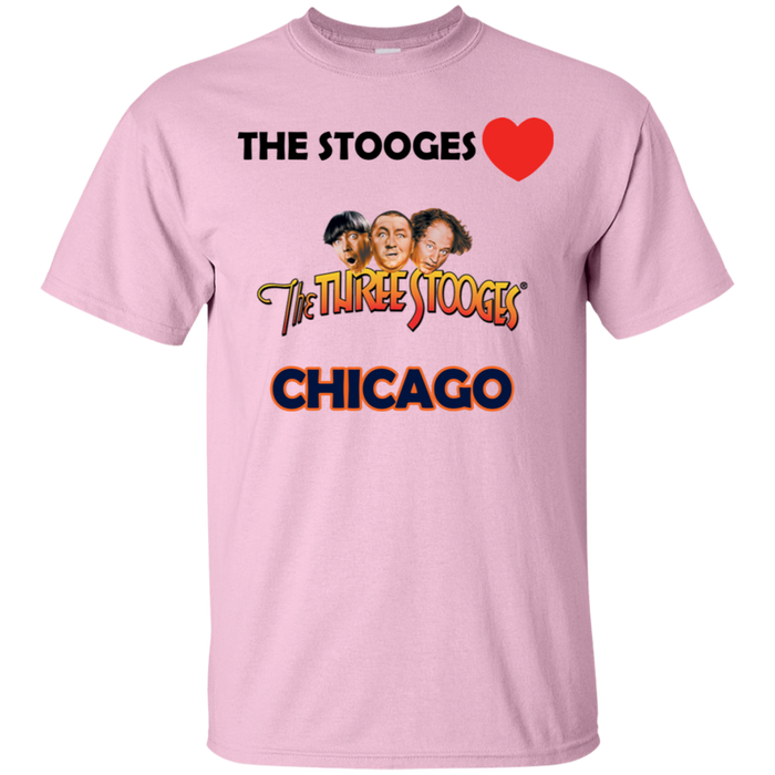 Three Stooges Love Chicago T-Shirt