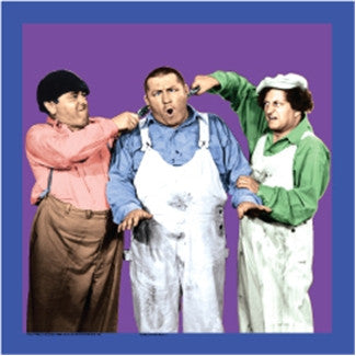 The Three Stooges Square Magnet: Ear Pulling - READY TO SHIP