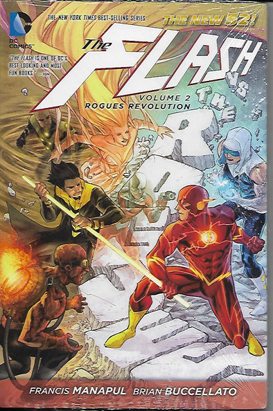 DC Flash Hardcover Volume 2: Rogues Revolution