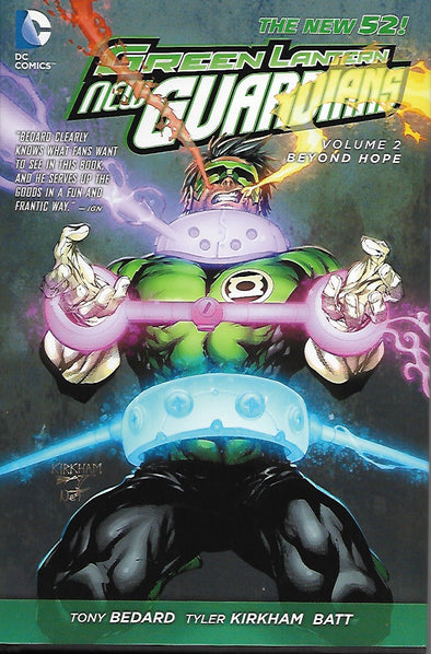 DC Green Lantern New Guardians - Beyond Hope - Hardcover Book