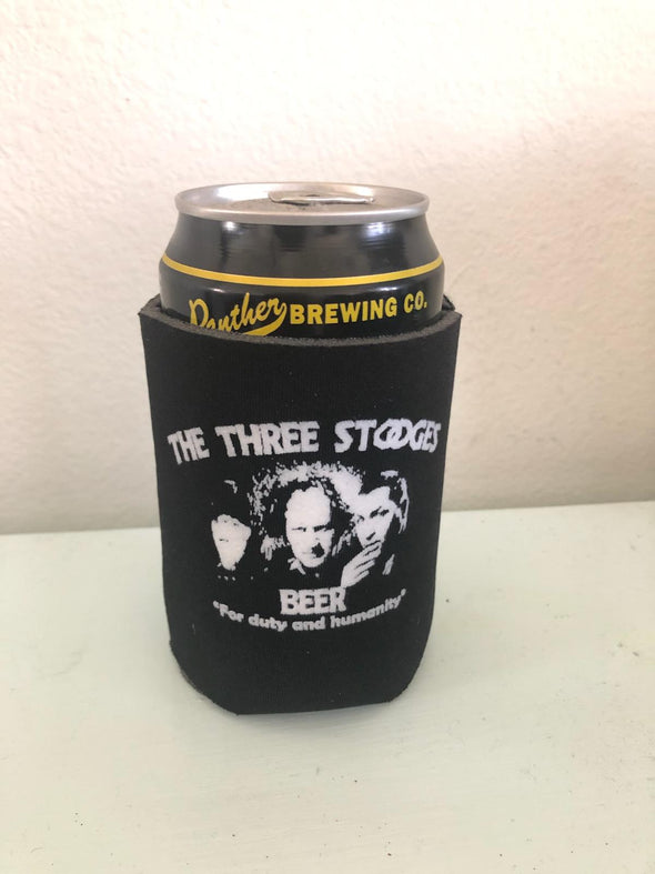 Three Stooges Beer Coozies 6 Pack