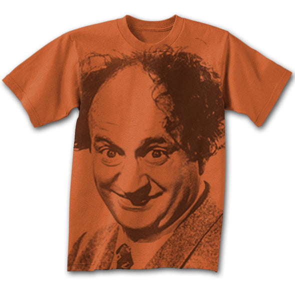 The Three Stooges T-Shirt: Big Larry - AVAILABLE TO SHIP AFTER 3-4 BUSINESS DAYS PROCESSING TIME