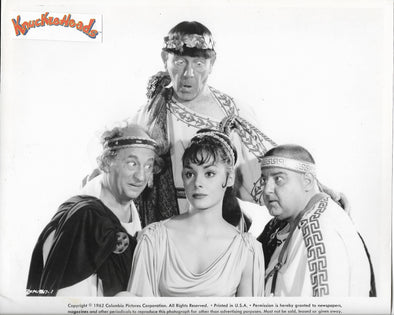 Three Stooges Meet Hercules Original Glossy Promo Photo 8X10