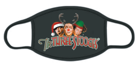 Three Stooges Holiday Exclusive Face Mask