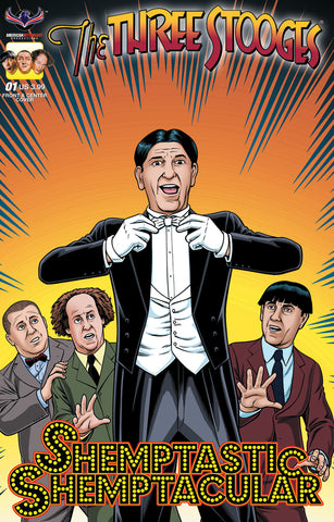The Three Stooges Comic Book Series 9 / SHEMPTACULAR Cover 2 - FRAIM BROS