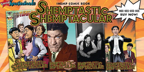 The Three Stooges Comic Book Series 9 / SHEMPTACULAR BUNDLE! All 4 Covers