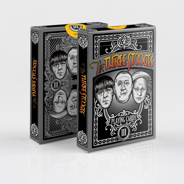 Three Stooges Officially Licensed Playing Cards - Limited Edition - Case of 12