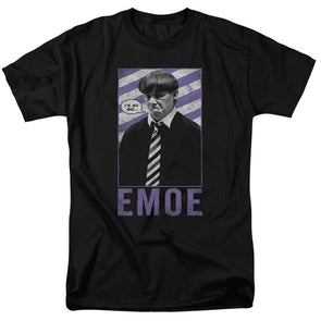 THREE STOOGES/EMOE - S/S ADULT 18/1 - BLACK