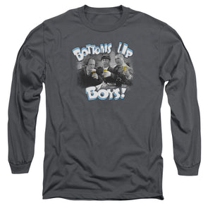 Three Stooges Bottoms Up - Long sleeve