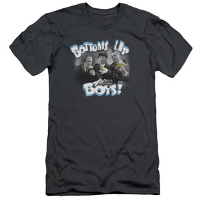 Three Stooges Bottoms Up T-Shirt Premium Cotton