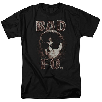 THREE STOOGES/BAD MOE FO - S/S ADULT 18/1 - BLACK