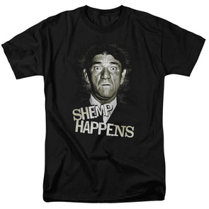 THREE STOOGES/SHEMP HAPPENS - S/S ADULT 18/1 - BLACK - Allow 3-5 business days processing time