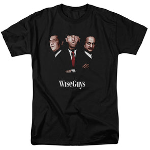 THREE STOOGES/WISEGUYS - S/S ADULT 18/1 - BLACK