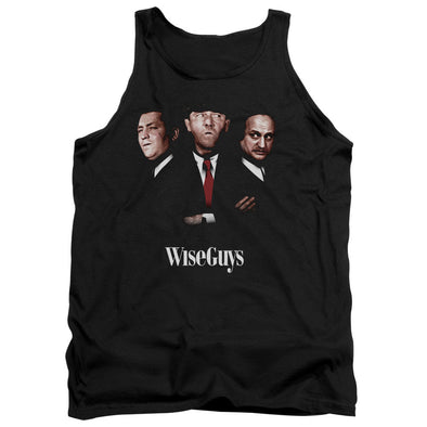 THREE STOOGES/WISEGUYS - ADULT TANK - BLACK