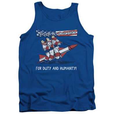 THREE STOOGES/MISSION ACCOMPLISHED - ADULT TANK - ROYAL