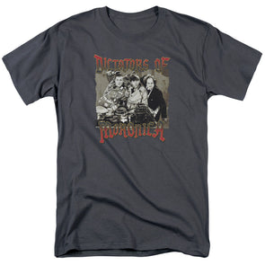 THREE STOOGES/MORONICA-S/S ADULT 18/1-CHARCOAL