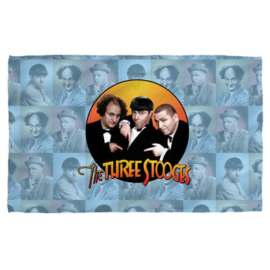 Three Stooges Beach Towel