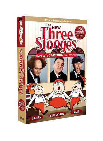 The Three Stooges DVD Set: The Complete Cartoon Collection - READY TO SHIP