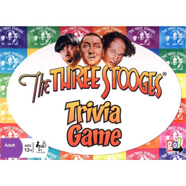 The Three Stooges Trivia Game - ESTIMATED TO BE IN STOCK 12/1/17