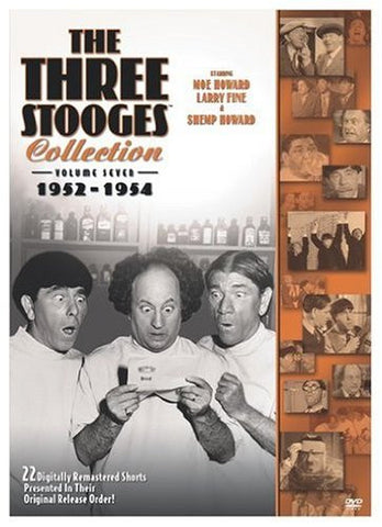 The Three Stooges DVD Collection: Vol. 7 (1952-1954) - READY TO SHIP