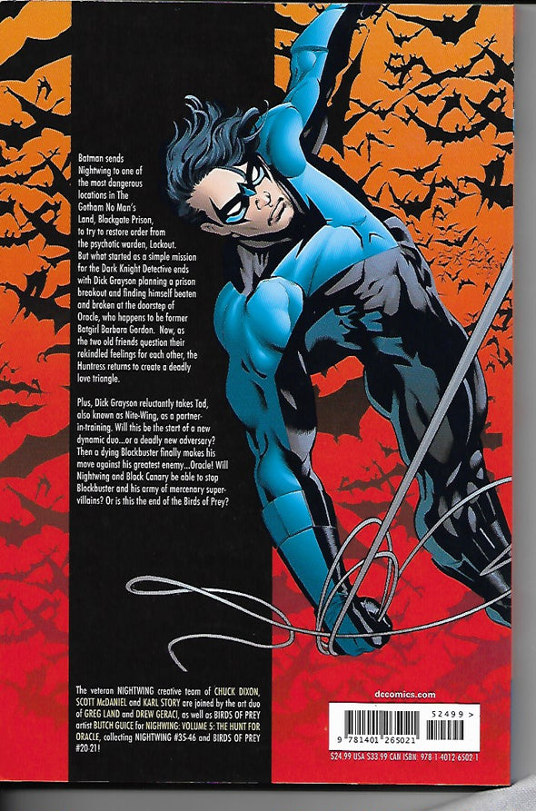 DC Nightwing Volume 5: Hunt For Oracle
