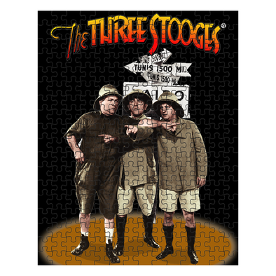 Three Stooges Safari Puzzle