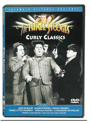 The Three Stooges DVD: Curly Classics - READY TO SHIP