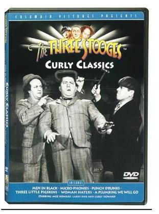 The Three Stooges Dvd: Curly Classics