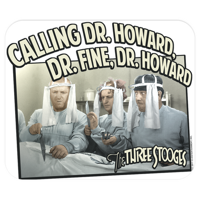 Three Stooges Mouse pad - Doctors