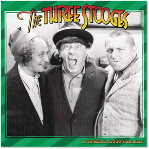 Three Stooges 2020 Wall Calendar - Ships 11/25