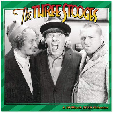 Three Stooges 2020 Wall Calendar - PRE SALE
