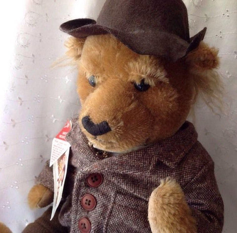 The Three Stooges Cooperstown Collectible Bear: Larry - READY TO SHIP