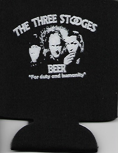 Three Stooges Beer Coozie - Can Cooler