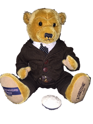 The Three Stooges Cooperstown Limited Edition Numbered Collectible Bear: Curly - READY TO SHIP