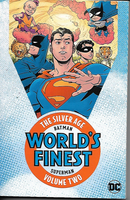DC Batman and Superman in World's Finest: The Silver Age Vol 2 Paperback