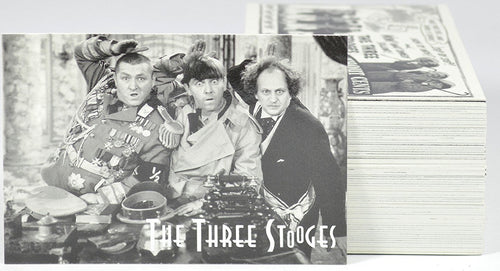 THE THREE STOOGES VINTAGE TRADING CARDS: 1997 DuoCards: 72 Card Complete Set