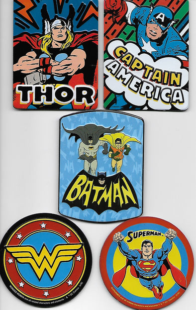 Super Hero Magnet Bundle