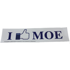 The Three Stooges Sticker: I Like Moe - READY TO SHIP