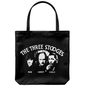 Three Stooges Opening Credits Tote Bag - FREE SHIPPING